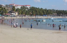 Playa Principal is one of several inviting beaches in Puerto Escondido.