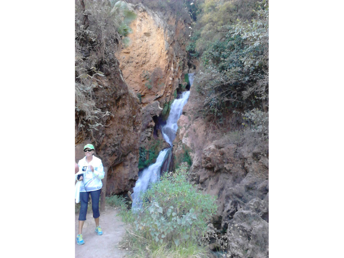 mountain bike oaxaca waterfall